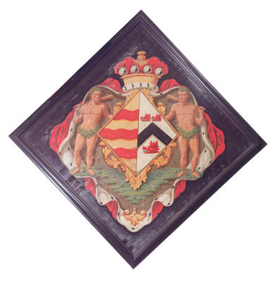Hatchment - Clementina 11th Countess of Perth