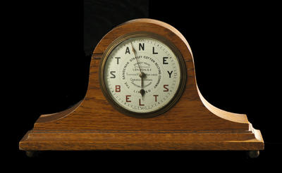 Mantelpiece clock