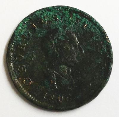 George III halfpenny