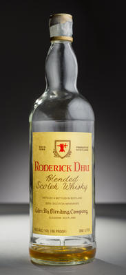Bottle of whisky - Roderick Dhu