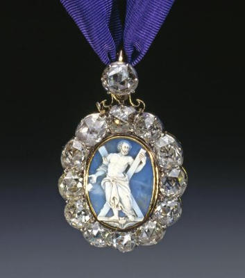 St Andrew Jewel of the Order of the Thistle