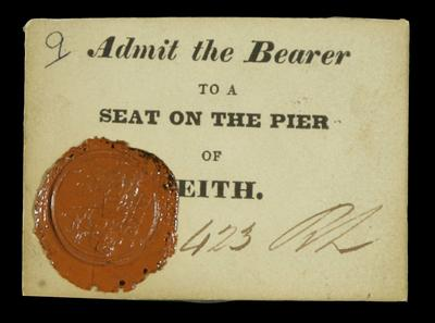 Ticket to Leith Pier