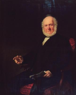 Oil on canvas portrait 'Mr Walter Paton'