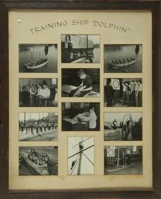 Photographs of training ship 'Dolphin