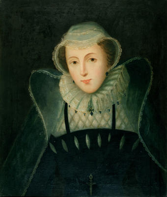 Oil on canvas - Mary Queen of Scots