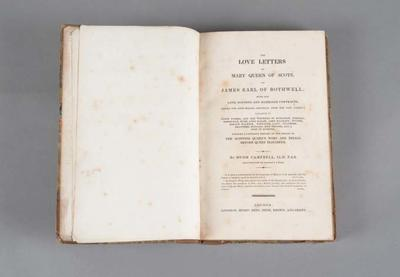 Book: The Love Letters of Mary Queen of Scots, to James Earl of Bothwell